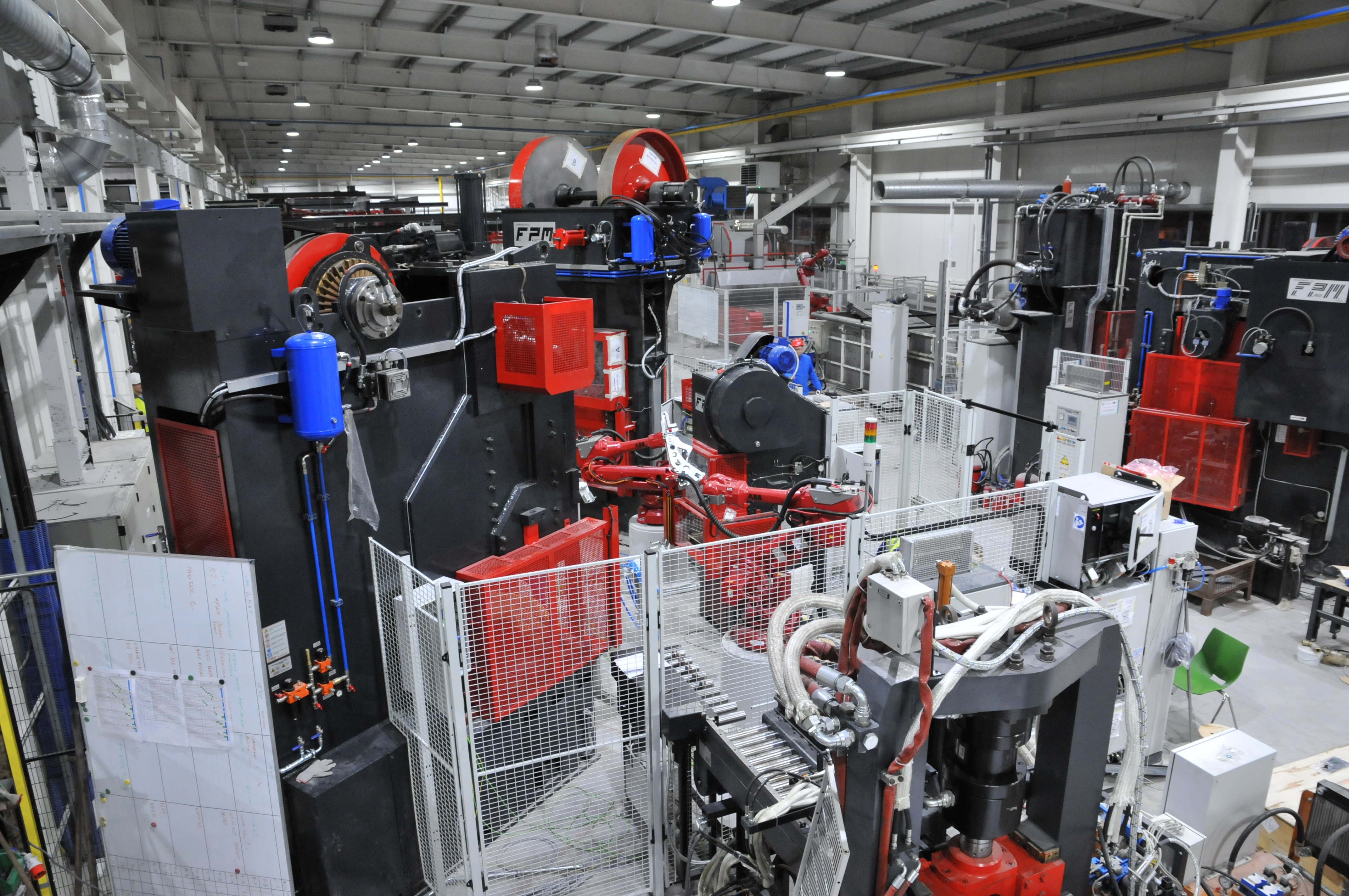 Robot celle for landbrugs sliddele